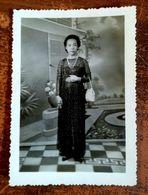 MONTAGE PHOTO SNAPSHOT VIETNAM INDOCHINE FEMME WOMAN ETHNIC SAIGON SURREALISME PHOTOMONTAGE SURRELISM - Fotografía