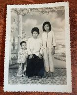 MONTAGE PHOTO SNAPSHOT VIETNAM INDOCHINE FAMILY ETHNIC SAIGON SURREALISME PHOTOMONTAGE SURRELISM - Etnicas