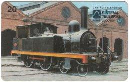 BRASIL M-342 Magnetic Telebras - Traffic, Historic Locomotive - Used - Brazil