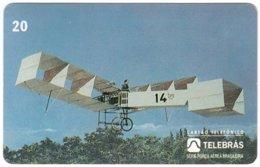 BRASIL M-380 Magnetic Telebras - Traffic, Historic Airplane - Used - Brazil