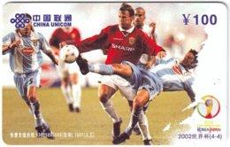 CHINA F-419 Prepaid ChinaUnicom - Sport, Soccer - Used - China