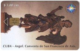 CUBA A-315 Chip Etecsa - Religion, Holy Statuette - Used - Cuba