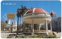CUBA A-319 Chip Etecsa - View, Village - Used - Cuba