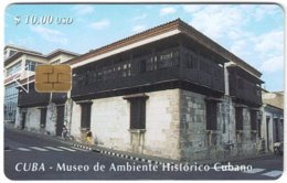 CUBA A-321 Chip Etecsa - View, Village - Used - Cuba