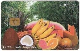 CUBA A-329 Chip Etecsa - Food, Fruits - Used - Cuba