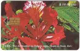 CUBA A-333 Chip Etecsa - Plant, Flower - Used - Cuba
