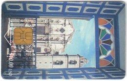 CUBA A-345 Chip Etecsa - Culture, Doorway - Used - Cuba