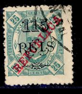 ! ! Zambezia - 1915 King Carlos 115 R - Af. 83 - Used - Zambèze