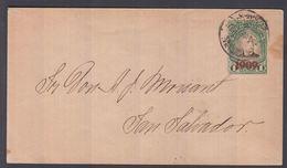 1909. EL SALVADOR.  Envelope  1909 On 1 C. JOSE ESCALON. Sent Locally In San Salvador... () - JF362241 - El Salvador