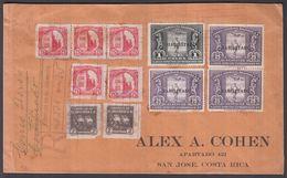 1935. EL SALVADOR. 3 Ex 25 C + 1 COLON SPORT Overprinted HABILITADO +7 Other Stamps O... () - JF362255 - El Salvador