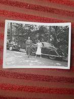 Photo Originale Voiture  Automobile   Annee 1936 - Automobiles