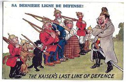 MILITAIRE - Sa Dernière Ligne De Défense ! - Guerre 1914-18