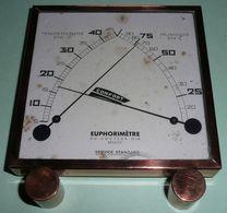 Rare Euphorimetre Du Docteur GIR CONFORT , Themomètre Hygromètre - Sciences & Technique