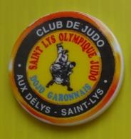 Fève Perso Patisserie Aux Délys - Saint Lys  - Club  De Judo - Deportes