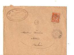 B20 1901 Lettre  De Locarn Pour Carhaix  Cachets Dont OR - Marcophilie (Lettres)
