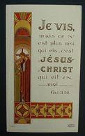 Image Pieuse Communion 1943 Yvetot Boulard - Devotion Images