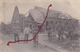 ( 80 ) - Flaucourt Bauernhof Küche Carte  Photo  Allemande 1° Guerre - Autres Communes