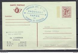 Carte Postale Acapulco Paquebot Vapor Oficina De Correos - Stamped Stationery