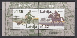 Latvia 2020. Europa. Bl. MNH. - Latvia