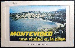 Uruguay 1978 Aerograma Aerogramme AE2C Playa Pocitos- Montevideo Una Ciudad En La Playa - Beach Plage * Scarce - Uruguay