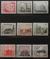 Pologne 1966 / Yvert N°1555-1563 / ** - 1944-.... Republik