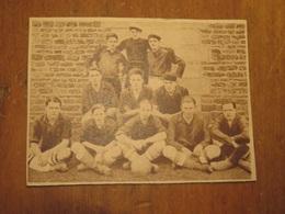 GRANVILLE (MANCHE): EQUIPE DE FOOTBALL DE GRANVILLE (PHOTO DE JOURNAL: 06/1932) - Normandie