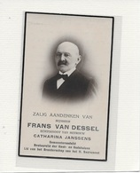 14- FRANS VAN DESSEL-JANSSENS-DUFFEL - Devotion Images