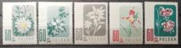 Pologne 1957 / Yvert N°904-908 / ** - 1944-.... Republic