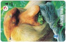 INDONESIA A-701 Magnetic Telkom - Animal, Monkey - Used - Indonesië