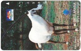 INDONESIA A-703 Magnetic Telkom - Animal, Antelope - Used - Indonesië