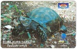 INDONESIA A-713 Magnetic Telkom - Animal, Turtle - Used - Indonesië