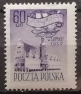 Pologne 1957 / Yvert N°912 / ** - 1944-.... Republic
