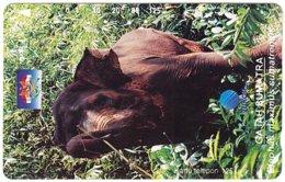 INDONESIA A-721 Magnetic Telkom - Animal, Elephant - Used - Indonesië