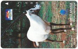 INDONESIA A-726 Magnetic Telkom - Animal, Antelope - Used - Indonesië