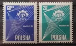 Pologne 1957 / Yvert N°902-903 / ** - 1944-.... Republic