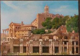 Ak Italien - Rom,Roma - Denkmale Von Mamertino Und Der Kaiser Forum - Autres Monuments, édifices