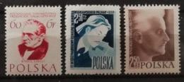 Pologne 1957 / Yvert N°916-918 / ** - 1944-.... Republic