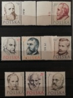 Pologne 1957 / Yvert N°893-899 / ** - 1944-.... Republic