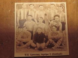 LEVROUX (INDRE): U.S. LEVROUX ÉQUIPE 1 FOOTBALL (PHOTO DE JOURNAL: 06/1932) - Centre - Val De Loire