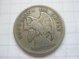 Chile , 20 Centavos 1921 - Chili