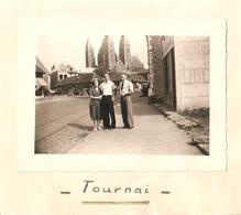 Foto Photo ( 6,5 X 9,5 Cm)  Tournai 1949 - Tournai