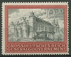 Generalgouvernement 1944 Burg Von Krakau, 5 Jahre GG, 125 Postfrisch - 1939-44: 2. WK