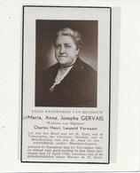 14- MARIA GERVAIS-VERWAEST-TURNHOUT - Devotion Images