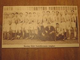 ???? RACING CLUB CASTELBONNAIS RUGBY (PHOTO DE JOURNAL: 06/1932) - Cultural
