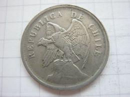 Chile , 20 Centavos 1923 - Chili