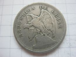 Chile , 20 Centavos 1924 - Chile