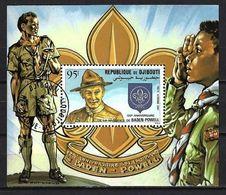 DJIBOUTI CELEBRITES 1982 (40) N° Yvert Bloc 169 Oblitérés Used - Djibouti (1977-...)