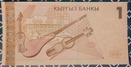 Kirghizistan - 1 Som - 1999 - UNC - Kyrgyzstan