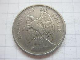 Chile , 20 Centavos 1925 - Chili
