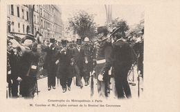 Paris Catastrophe Metro Combes Et Lepine Metro Couronns - Métro Parisien, Gares